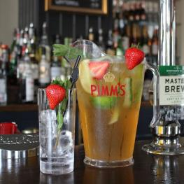 Pimms at The Prince of Wales Reigate